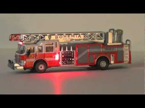 Ho Scale Fire Truck With Flashing Led Lights Doovi