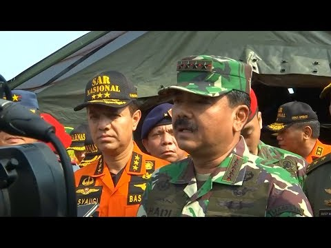 Indonesian military chief says body of crashed Lion Air plane may have been located