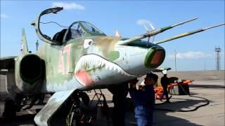 VL ru   Полеты самолетов Су 25СМ в Черниговке
