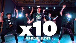 "1K Phew, Aha Gazelle ""x10"" DANCE VIDEO   Exiles x Reach Records   Michael Holmes   @SWERVETVDANCE 4k"