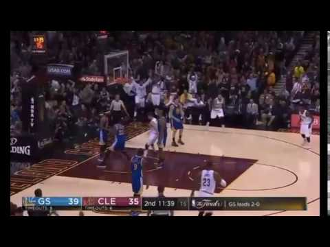 Kyle Korver Dunk vs. Warriors In Game 3 (HD)