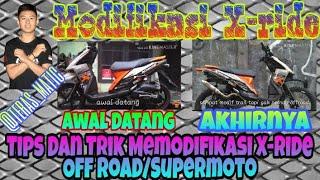 Modifikasi Yamaha X-RIDE Indonesia, Off Road dan Supermoto simple #XYI