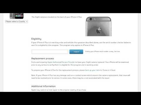 Apple เปิดโครงการ ซ่อมกล้องหลังเบลอ, กล้องไม่โฟกัส iPhone 6 Plus!!