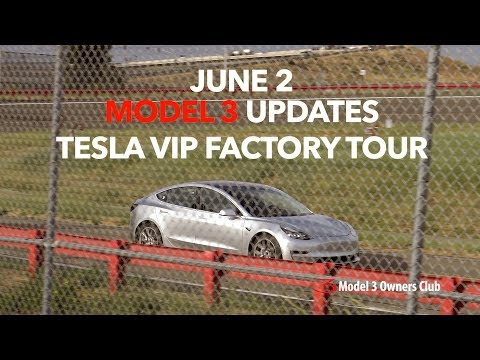 Tesla VIP Factory Tour | Model 3 Owners Club