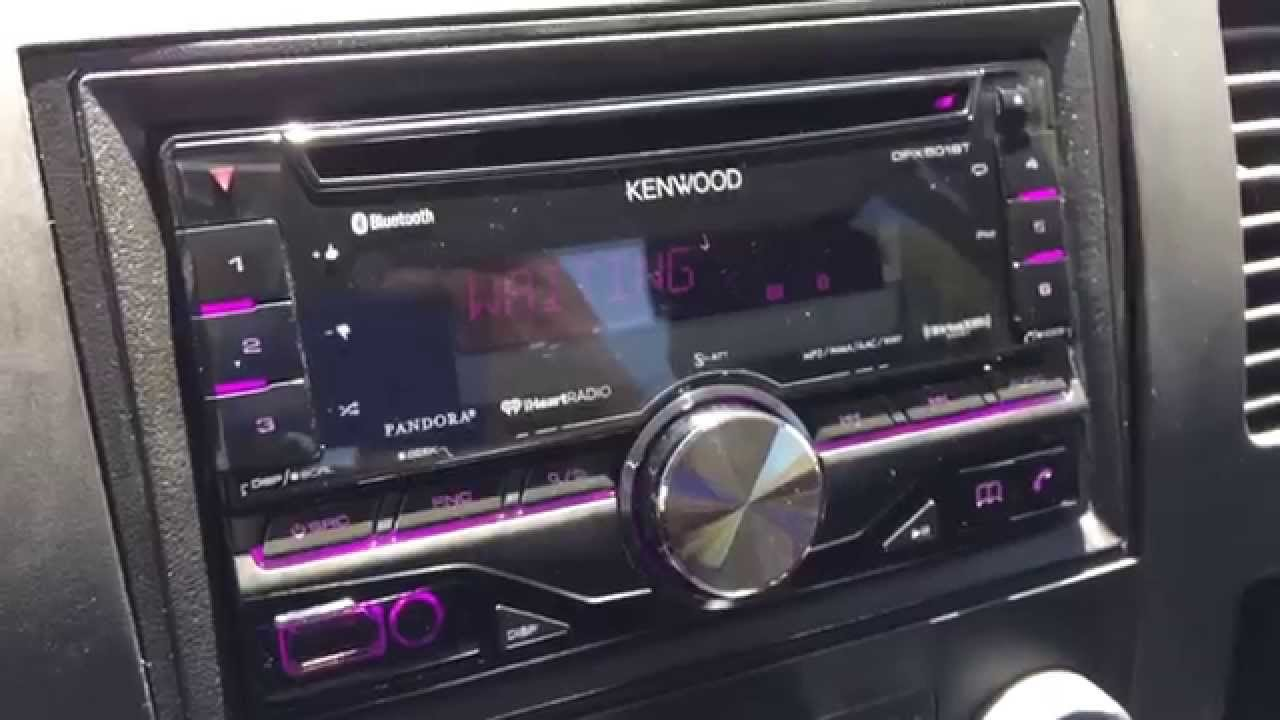 hight resolution of kenwood dpx501bt double din stereo youtube rh youtube com kenwood stereo wiring kenwood stereo wiring