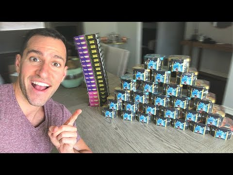 *I'M GOING ALL IN FOR SHINY CHARIZARD!* Opening Pokemon Cards HIDDEN FATES New Boxes and Packs!