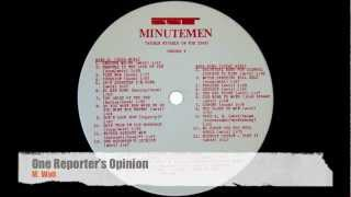 Minutemen - Double Nickels On The Dime (Original Vinyl) Side D.