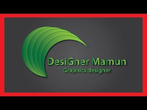 Seprated Dotes 3D Logo Design Tutorial | designer mamun thumbnail