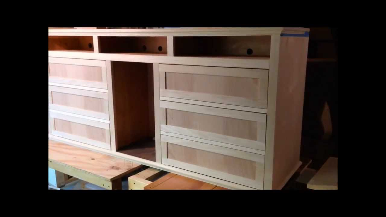 Entertainment Center With Lighting