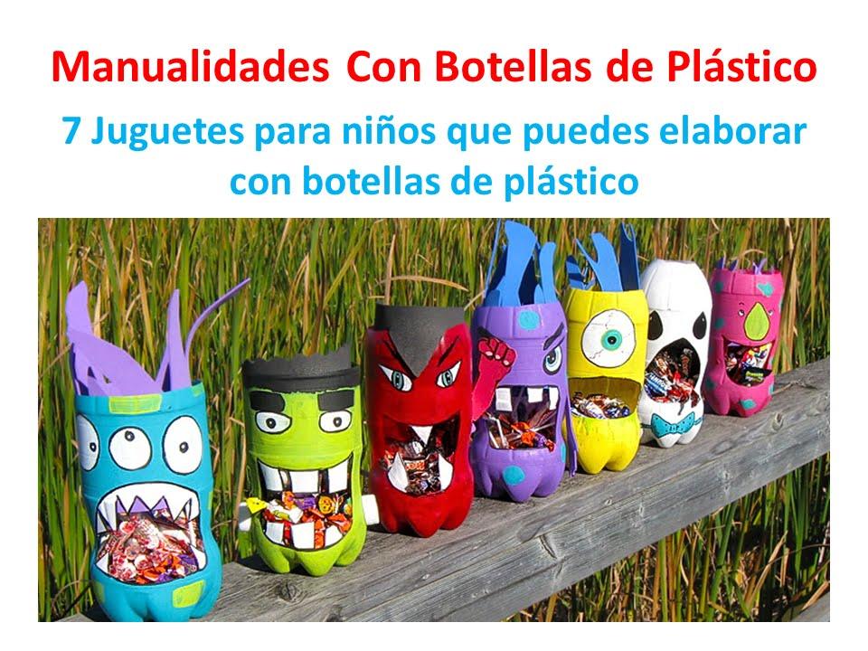 Botellas de pl stico 7 ideas para hacer juegos para ni os youtube for Juegos para jardin nios