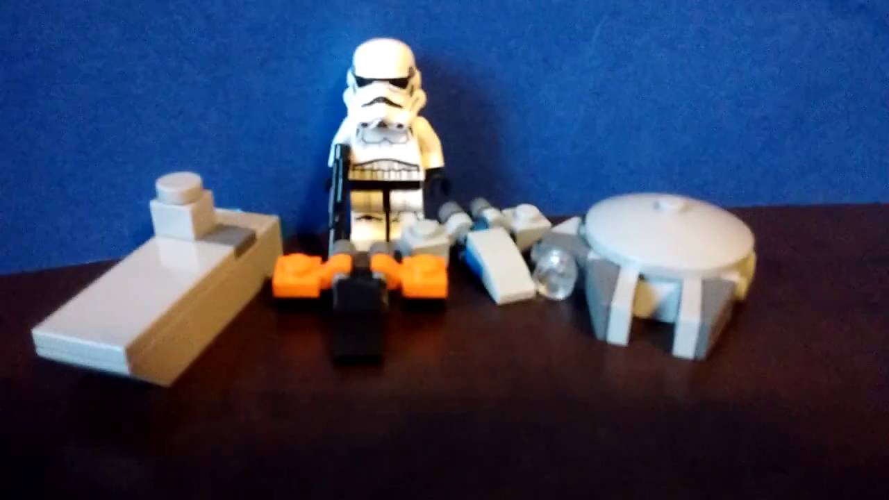 Mini Lego Star Wars Ships 2 (X-wing, Millennium Falcon ...