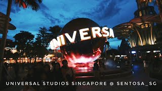 Universal Studios Singapore || Cinematic GoPro Hero7 Videography