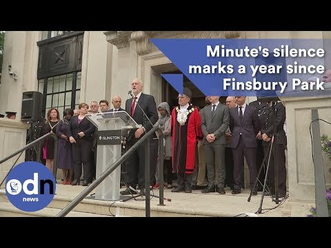 Minute's silence held a year after Finsbury Park attack