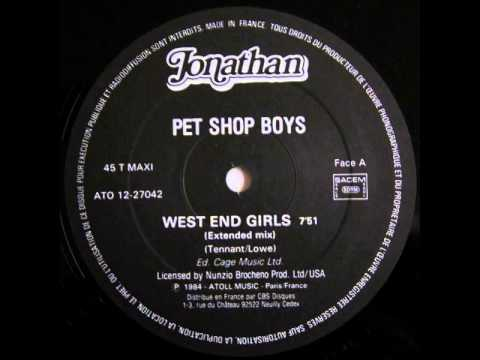 Pet Shop Boys - West End Girls (12'' Extended Mix)