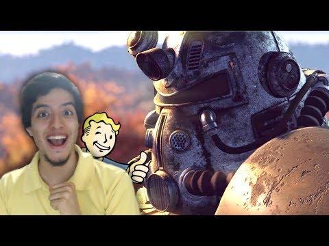 FALLOUT 76 ES ONLINE CON AMIGOS!! (Mi Reacción a Fallout 76 Gameplay Trailer) | E3 2018