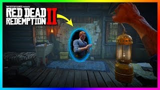 What Happens If You Get Inside Of Francis Sinclair's Time Traveling House In Red Dead Redemption 2?