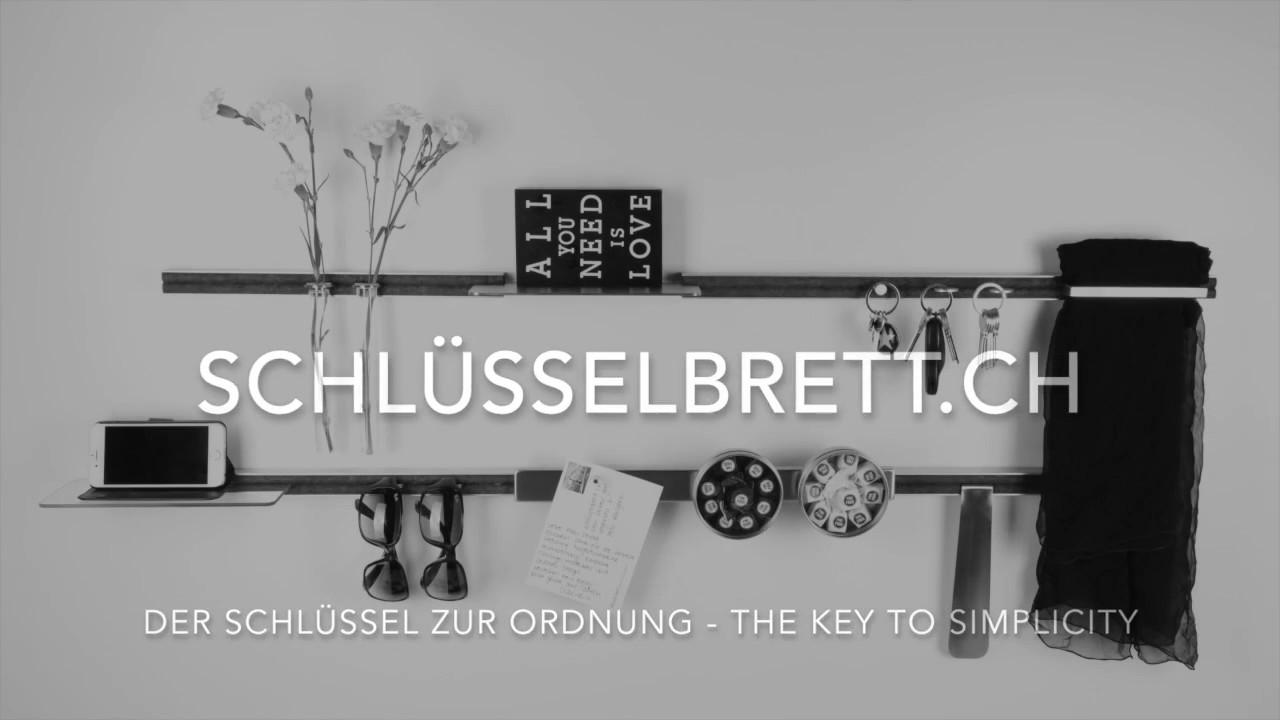 schlüsselbrett.ch Karin Sieber-Graf - YouTube