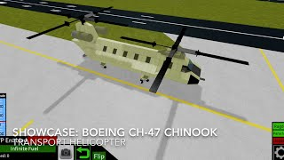 Roblox showcase: The Boeing CH-47 Chinook