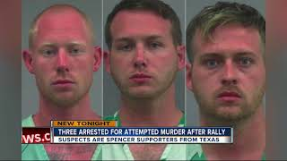 Three arrested after shooting following white nationalist Richard Spencer event at UF