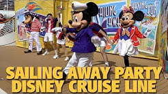 Sailing Away Deck Party | Disney Cruise Line