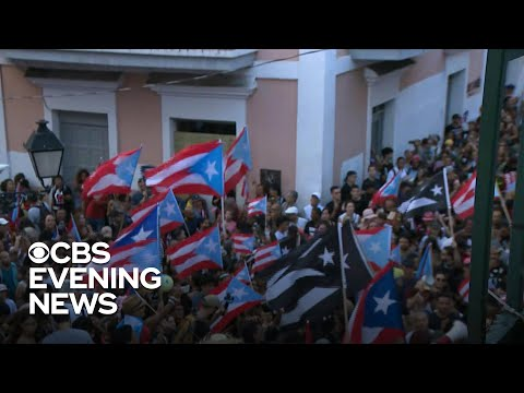 Puerto Rico Governor RIcardo Rosselló steps down