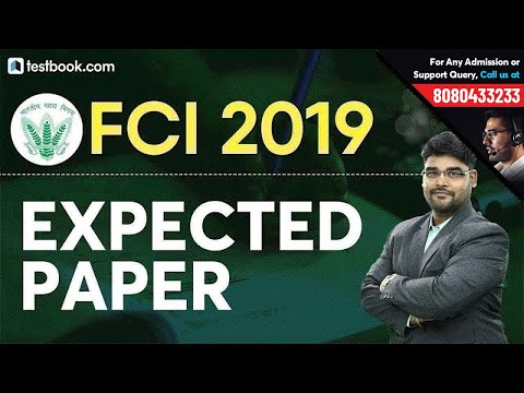 Expected Numerical Aptitude Question Paper For FCI 2019 | Math Class For FCI Phase 1 By Utkarsh Sir