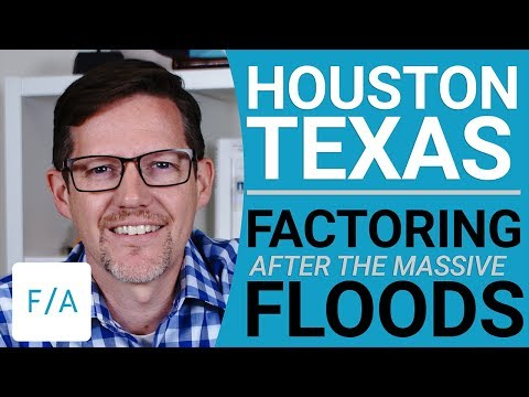 Houston Lender Interview, Factoring after the Flood - #FINAN