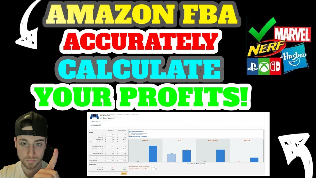 FBA Calculator For Amazon| Tutorial On How To ACCURATELY Calculate Your Profits For FREE