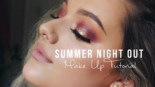 Summer Night Out Make up Tutorial! | Rachel Leary