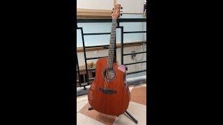 Test guitar Magna (M-91CE NAT) Acoustic dáng khuyết, có EQ ngon