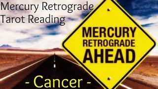 Cancer ~ Understanding, clarity & rewards! ~ Mercury Retrograde Reading