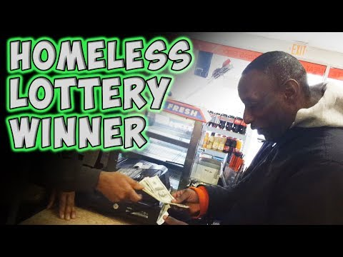 Homeless Man 'Won' the Lottery. He's Reaction Can Melt The Heart