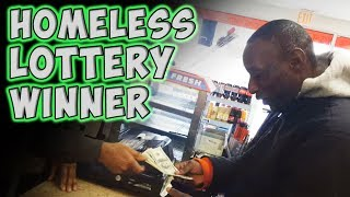 Video Homeless Lottery Winner download MP3, 3GP, MP4, WEBM, AVI, FLV Agustus 2017