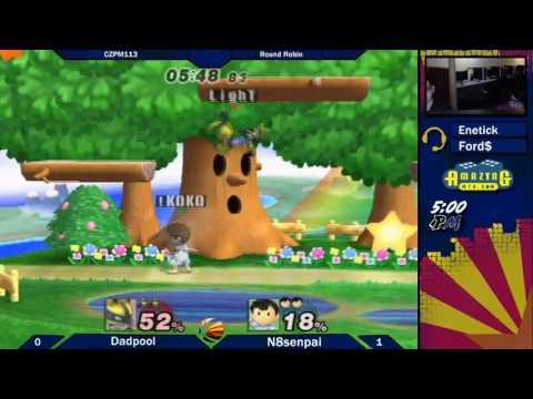 CZPM113 Round Robin: Dadpool (Lucario) vs N8senpai (Ness)