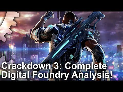 Техническое сравнение версий Crackdown 3 для Xbox One и Xbox One X