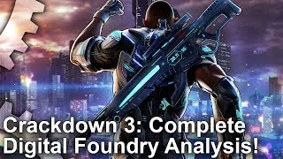 Crackdown 3 Analysis: Everything You Need To Know + Xbox One X/S and PC Performance!