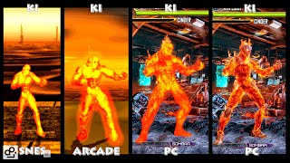 vuclip Killer Instinct CINDER Graphic Evolution 1994-2016 | SNES ARCADE PC | PC ULTRA
