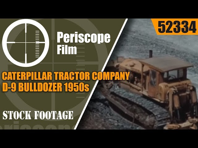 Caterpillar D9 Farm Tractor | Caterpillar Farm Tractors