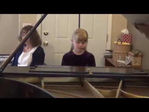 Genesis Age 7, Suzuki Piano Book 2 Recital