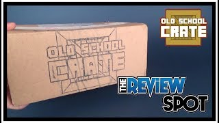 Subscription Spot | Old School Crate July 2017 Subscription Box UNBOXING!
