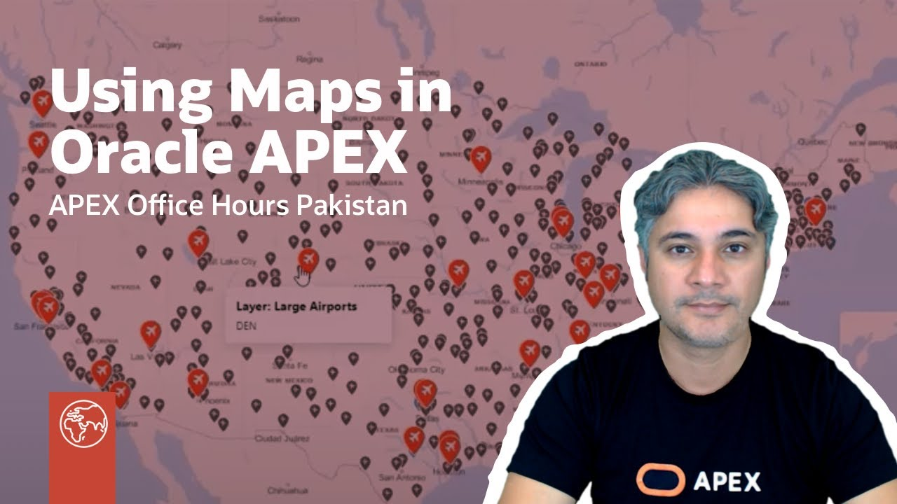 Using Maps in Oracle APEX