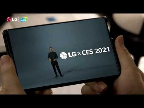 LG Rollable smartphone teaser