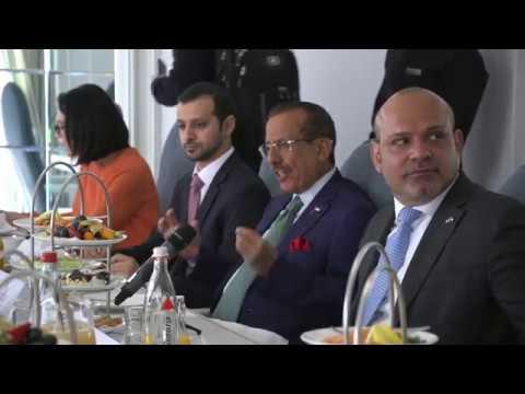 Khalaf Al Habtoor talks UAE Economy, Saudi reform and politics with Journalists in Berlin