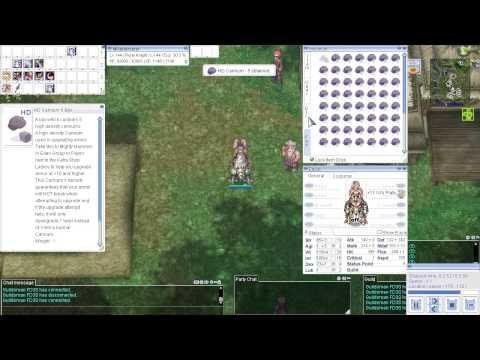 Ragnarok Online Gameplay - Upgrading to +12 (Insane Luck) HD