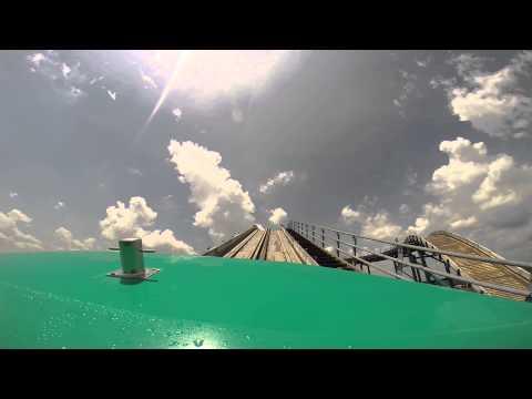 Mile High Falls - Kentucky Kingdom - HD Front Seat POV