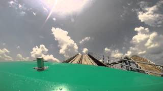 Mile High Falls - Kentucky Kingdom - HD Front Seat POV