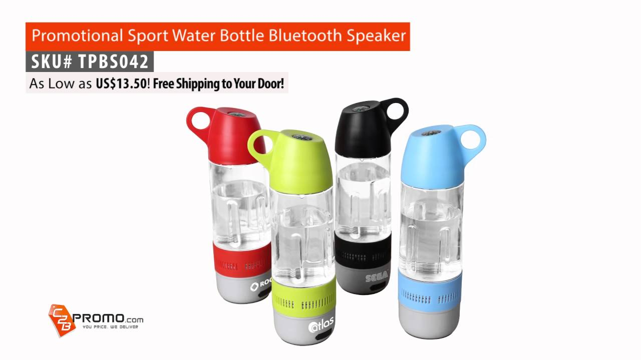Promotional Sport Water Bottle Bluetooth Speaker TPBS042 from C2BPromo com
