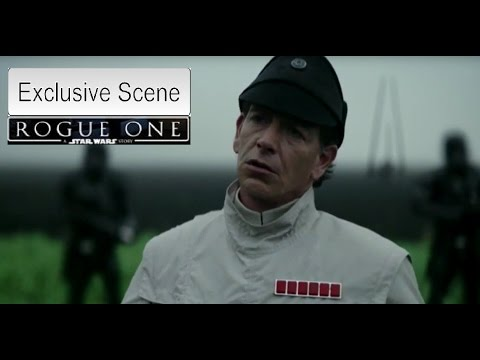 Rogue One A Star Wars Story Exclusive Scene - Galen Erso and Director Orson Krennic