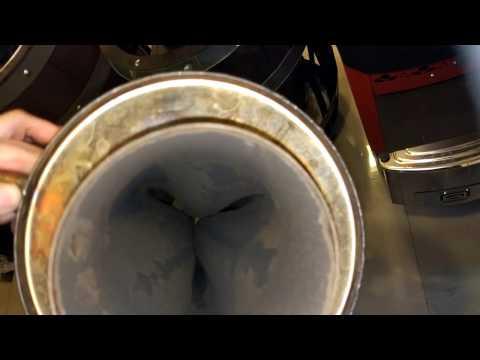 Баня.Мороз.Теплообменник.Воду из шлангов до конца не слили - взрыв через пробку льда получили!
