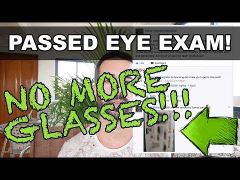 Fixed Eyesight: DMV Vision Test Passed - NO MORE GLASSES!!!! (*not Bates Method)